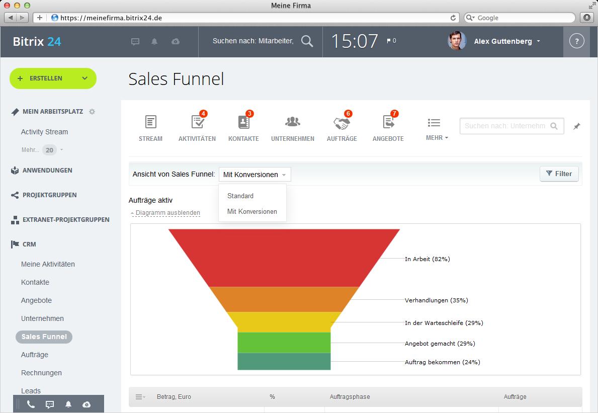 Bitrix24: Kostenlose Vertriebs- und Team-Management-Software