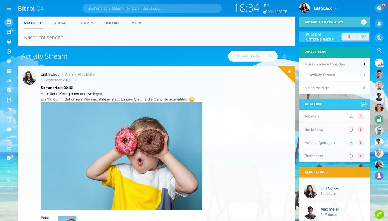 Einfache Digitalisierung des Unternehmens